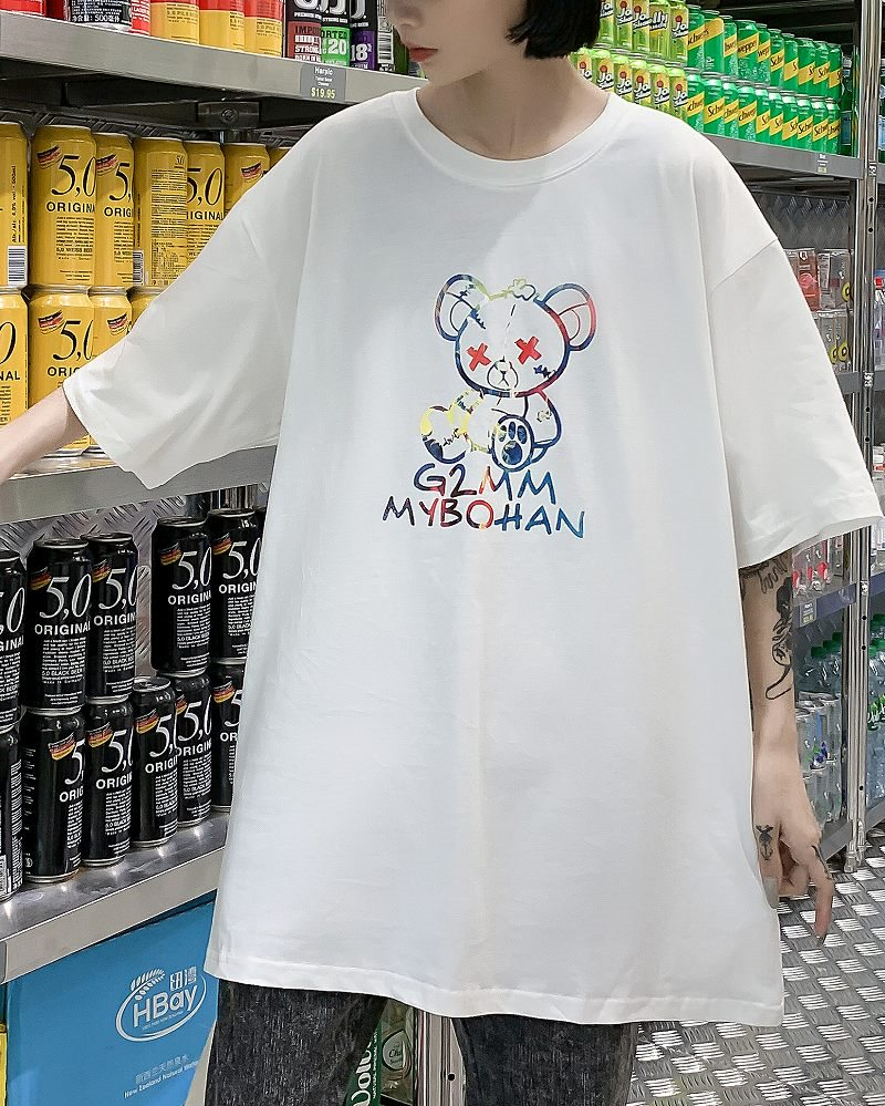 《2色》こてんぱんクマTシャツの画像4